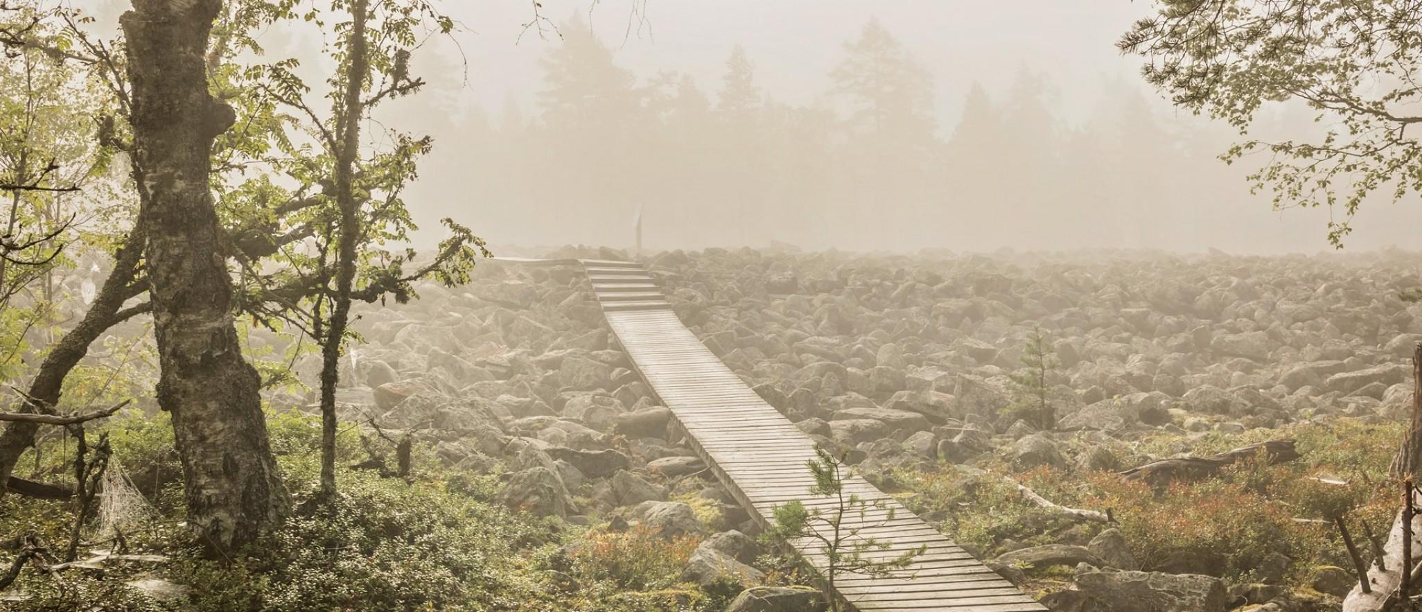 Utuinen kivijata kuva Mia Perkiö